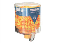 Moldex MOL7625 - Disposable Foam Earplugs Mellows Station 250 Pairs SNR 22