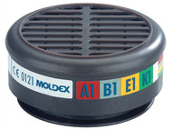 Moldex MOL890001 - ABEK1 Gas Filter For 8000 Half Mask Wrap of 2