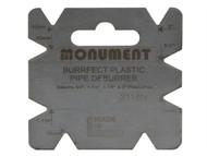 Monument MON2116 - 2116N Burrfect Square De-Burrer