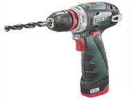 Metabo MPT108PMAXX2 - PowerMaxx BS Quick Basic 10.8 Volt 2 x 2.0Ah Li-Ion