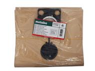 Metabo MPTASRBAGS - Paper Filter Bags (5) For ASR2025