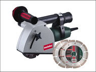 Metabo MPTMFE30L - MFE 30 125mm Diamond Wall Chaser 1400 Watt 110 Volt