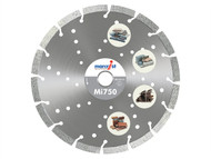 Marcrist MRC750230 - Mi750 Diamond Blade Long Life Universal Cut 230mm x 22.2mm