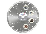 Marcrist MRC75035020 - Mi750 Diamond Blade Long Life Universal Cut 350mm x 20mm