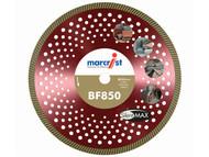 Marcrist MRC85030020 - BF850 SilentMAX Ultimate Turbo Diamond Blade 300mm x 20mm