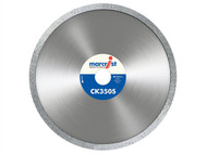 Marcrist MRCCK350115 - CK350 Smooth Rim Diamond Blade Tile Cut 115mm x 22.2mm