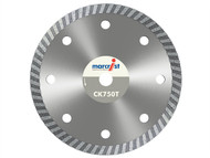 Marcrist MRCCK750T125 - CK750 Turbo Rim Diamond Blade Fast Cut 125mm x 22.2mm