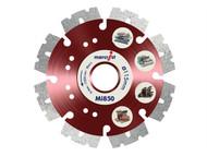 Marcrist MRCMI850115 - Mi850 Fastest Universal Cut Diamond Blade 115mm x 22.2mm
