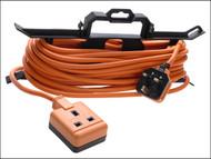 Masterplug MSTCT1513 - Garden Extension Lead 240 Volt on H Frame 15 Metre
