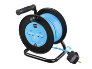 Masterplug MSTLDCC25102 - Drum Cable Reel 25 Metre 2 Socket 10A Thermal Cut-Out 240 Volt