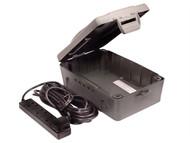 Masterplug MSTWBXBFG - Weatherproof Box With 10 Metre 240 Volt 4 Way Bar