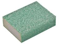 Oakey OAK58595 - Liberty Green Sanding Block Medium/Coarse (1)