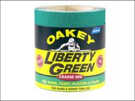 Oakey OAK63844 - Liberty Green Roll 115mm x 5m Fine 120g