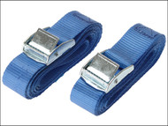 Olympia OLY05514 - Cam Buckle 25mm x 2.5m (1in x 98in) (Pack of 2)