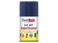 Plasti-kote PKT103S - Fast Dry Enamel Aerosol Night Blue 100ml