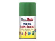 Plasti-kote PKT104S - Fast Dry Enamel Aerosol Garden Green 100ml