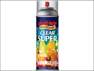 Plasti-kote PKT1138 - Super Gloss Spray Clear 400ml