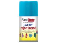 Plasti-kote PKT117S - Fast Dry Enamel Aerosol Sky Blue 100ml
