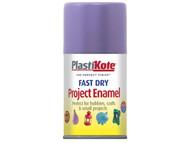 Plasti-kote PKT120S - Fast Dry Enamel Aerosol Lavender 100ml