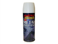 Plasti-kote PKT1286 - Metal Protekt Spray Gloss White 400ml