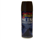 Plasti-kote PKT1291 - Metal Protekt Spray Brown 400ml