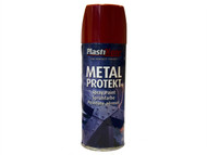 Plasti-kote PKT1292 - Metal Protekt Spray Bright Red 400ml