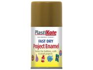 Plasti-kote PKT143S - Fast Dry Enamel Aerosol Antique Gold 100ml