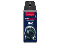 Plasti-kote PKT26020 - Twist & Spray BBQ Paint Black 400ml