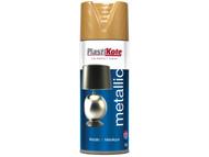 Plasti-kote PKT455 - Metallic Spray Antique Gold 400ml