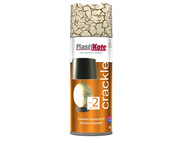 Plasti-kote PKT475 - Crackle Touch Spray Heritage Gold 400ml