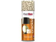 Plasti-kote PKT479 - Crackle Touch Spray Colony Cream 400ml