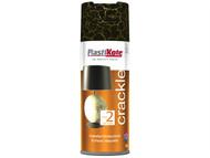 Plasti-kote PKT495 - Crackle Touch Spray Black 400ml