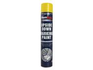 Plasti-kote PKT6002 - Upside Down Mark Paint Yellow 750ml