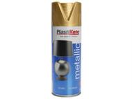 Plasti-kote PKT620 - Metallic Spray Gold 400ml