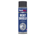 Plasti-kote PKT796 - Industrial Heatshield Spray Black 500ml
