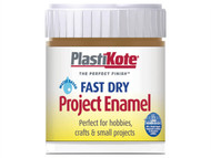 Plasti-kote PKTB17W - Fast Dry Enamel Paint B17 Bottle Nut Brown 59ml
