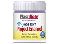 Plasti-kote PKTB22W - Fast Dry Enamel Paint B22 Bottle Lavender 59ml