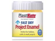 Plasti-kote PKTB31W - Fast Dry Enamel Paint B31 Bottle Gold Leaf 59ml