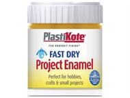 Plasti-kote PKTB33W - Fast Dry Enamel Paint B33 Bottle Brass 59ml