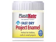 Plasti-kote PKTB47W - Fast Dry Enamel Paint B47 Bottle De La CrŒÍŒ'_ŒÍŒ'í__me 59ml
