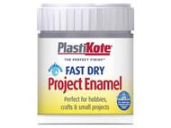 Plasti-kote PKTB52W - Fast Dry Enamel Paint B52 Bottle Pewter 59ml