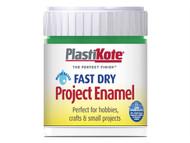 Plasti-kote PKTB7W - Fast Dry Enamel Paint B7 Bottle Night Blue 59ml