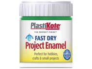 Plasti-kote PKTB9W - Fast Dry Enamel Paint B9 Bottle Garden Green 59ml