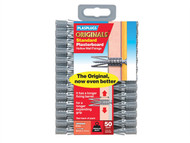 Plasplugs PLASCF552 - SCF 552 Originals Plasterboard Fixings Pack of 50
