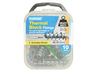 Plasplugs PLASCP120 - SCP 120 Thermal Block Fixings (10)