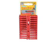 Plasplugs PLASRP502 - SRP 502 Solid Wall Super Grips Fixings Red (100)