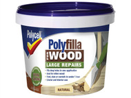 Polycell PLC2PWFN750 - Polyfilla 2 Part Wood Filler Natural 750g