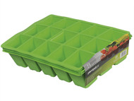 Plantpak PPK70200011 - Seed Tray Inserts 15 Cell (22 x Packs of 5)