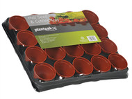Plantpak PPK70200051 - Half Seed And Cutting Tray 20 Pot (Pack of 36)