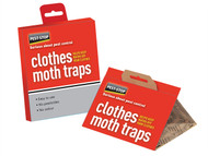 Pest-Stop Systems PRCPSCMT - Clothes Moth Trap (Pack of 2)